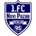 Vereinslogo 1. FC Novi Pazar Berlin 95