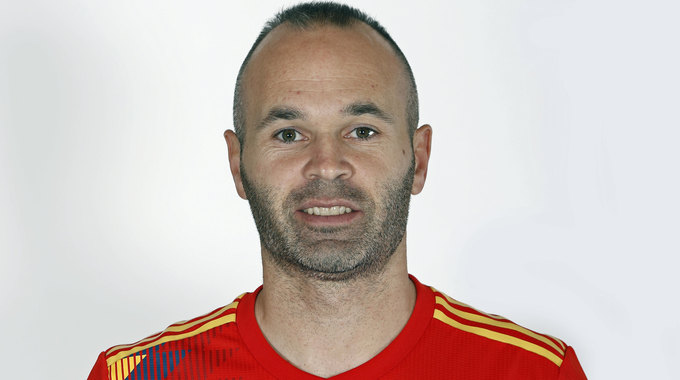 Profile picture of Andres Iniesta