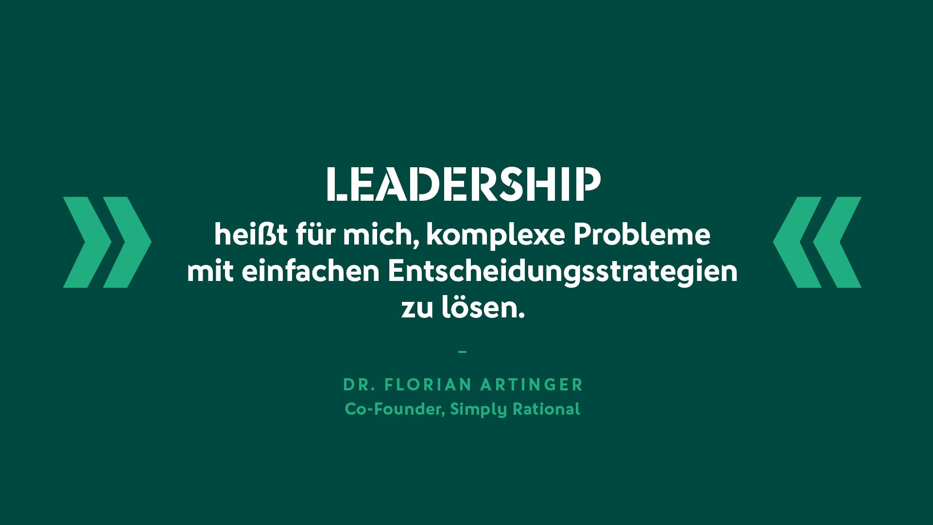 Dr. Florian Artinger