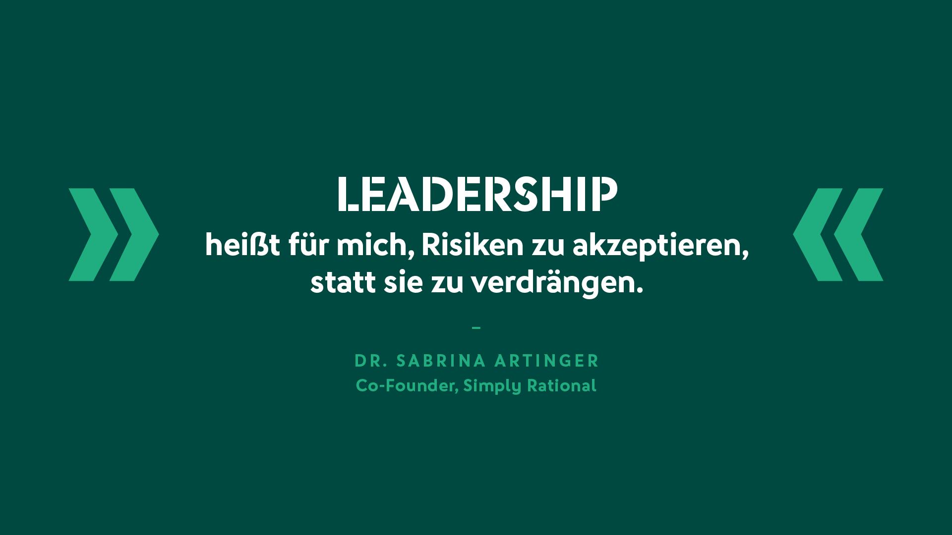 Dr. Sabrina Artinger