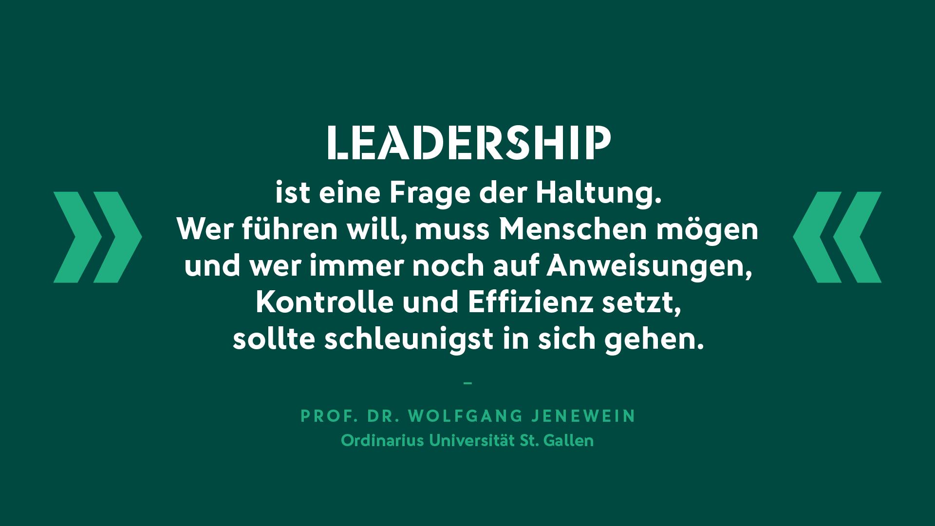 Prof. Dr. Wolfgang Jenewein