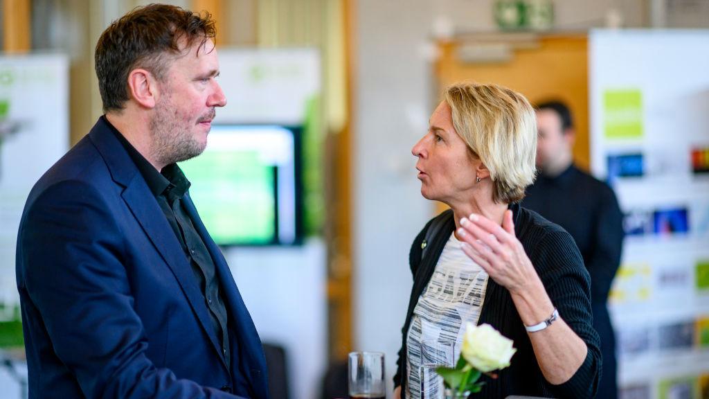 Martina Voss- Tecklenburg im Gespräch