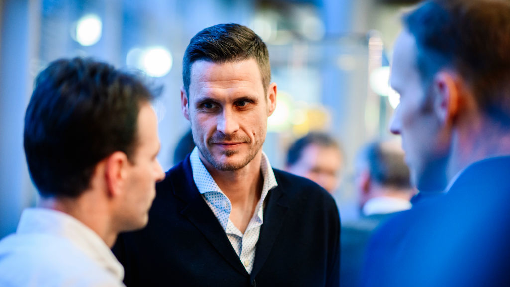 Sebastian Kehl beim Leadership Festival