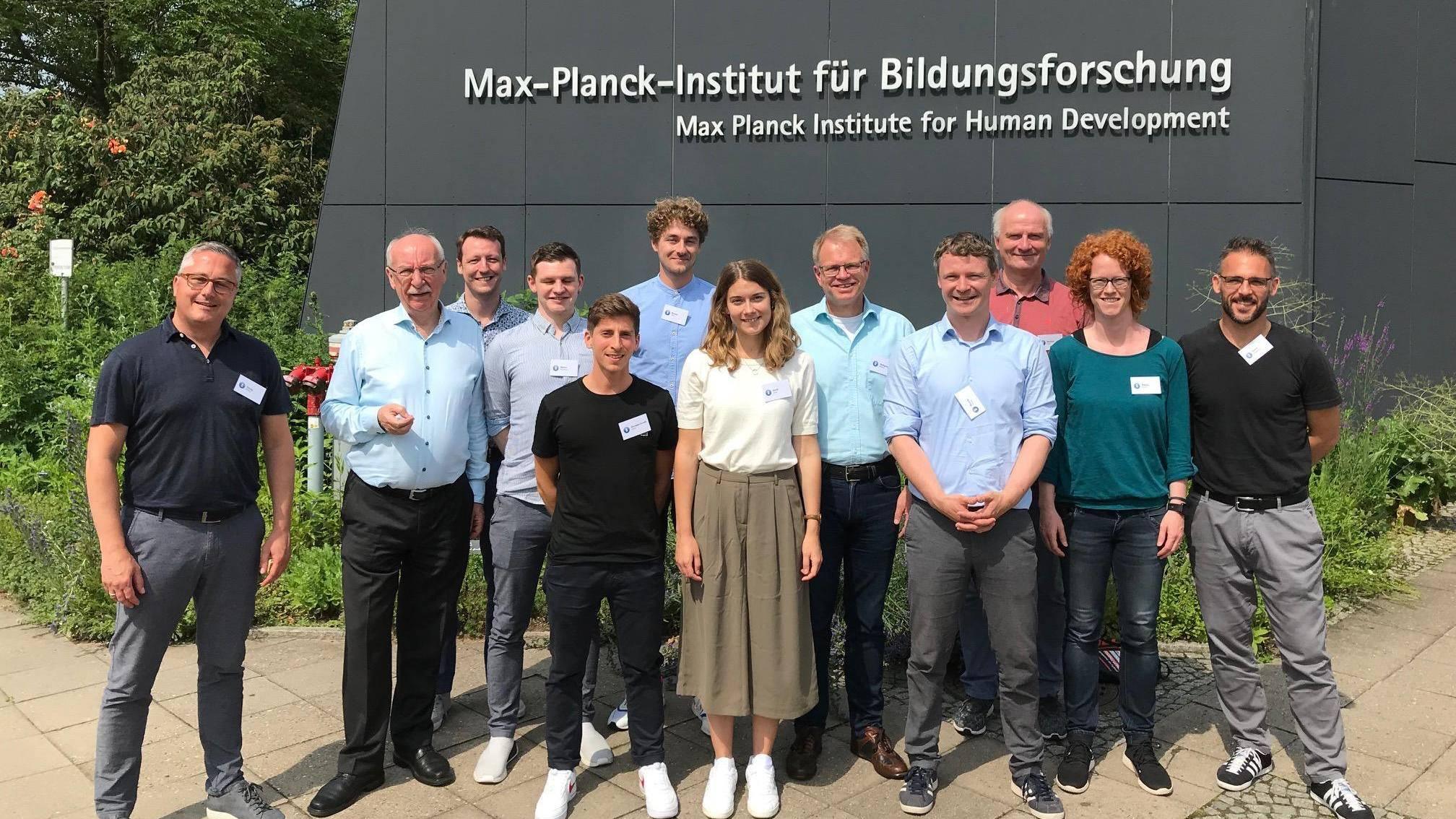 Besuch des Max-Plank Institutes 2019