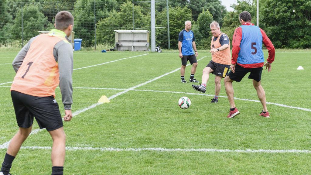 Eine Einheit während des DFB Junior Coach Workshops.