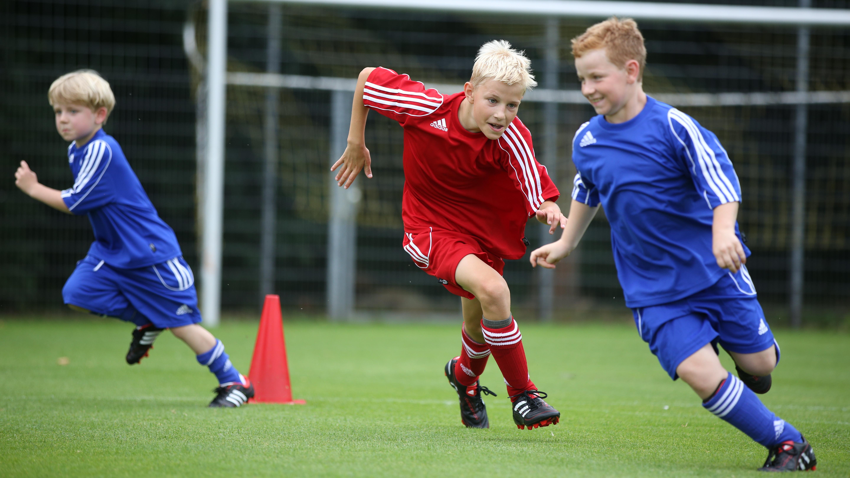 Nachwuchsspieler Training