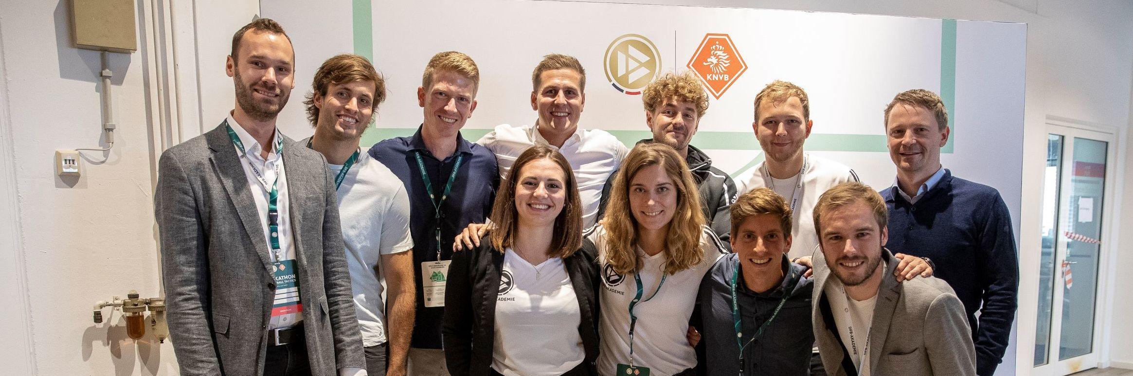 DFB-Akademie-Team beim ersten Hackathon © 2019 Getty Images