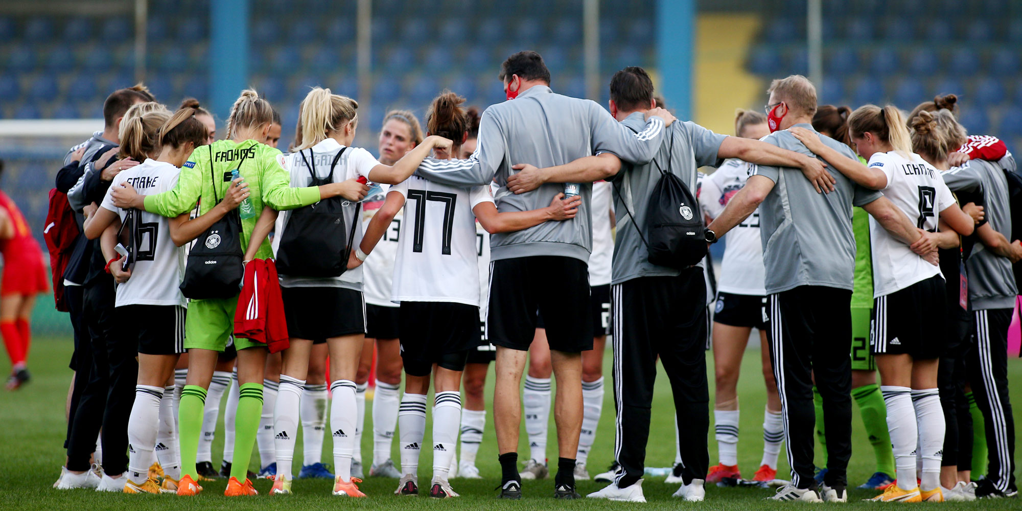 Einschwören der DFB Frauen-Nationalmannschaft