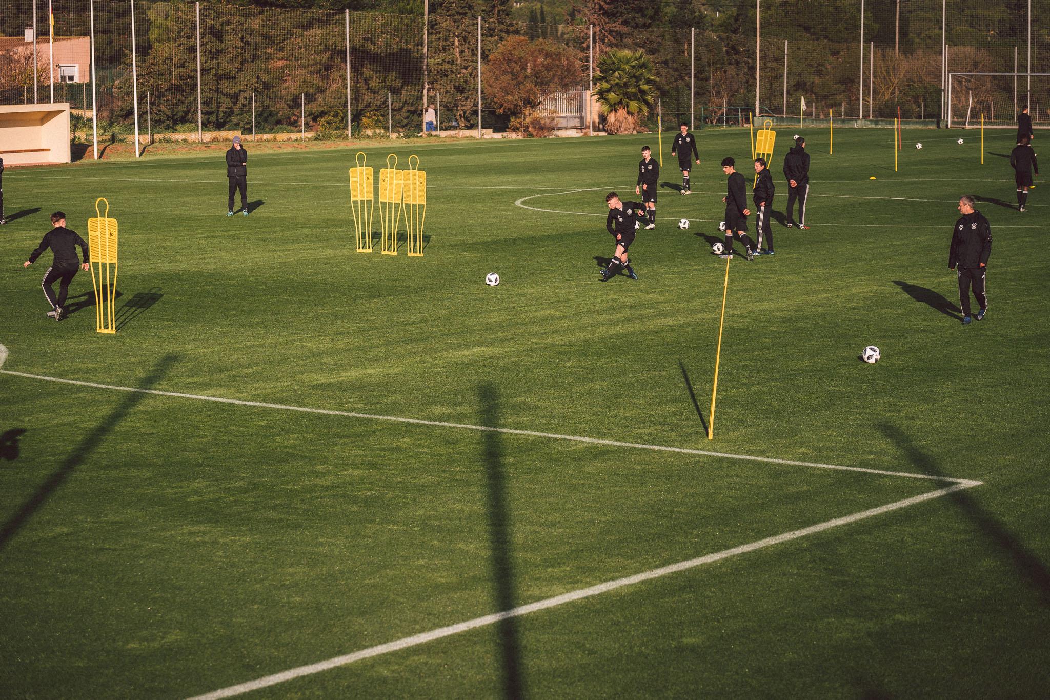 Trainingscamp der Junioren-Nationalmannschaft in La Manga.